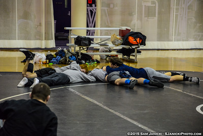 Dual 1 - Ohio State Vs Middle Tennessee - 2015 Glass City Duals 2-8-15