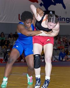 Women's Freestyle Championships 63 Kg: Randi Miller  (Gator Wrestling Club) def  Sara McMann (Sunkist Kids) by Dec 2-1,4-0