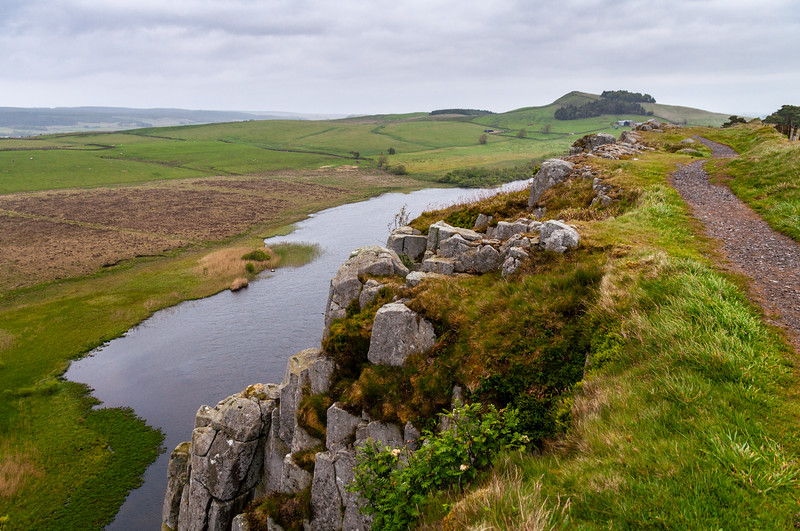 Crag Lough under Hadrian's Wall