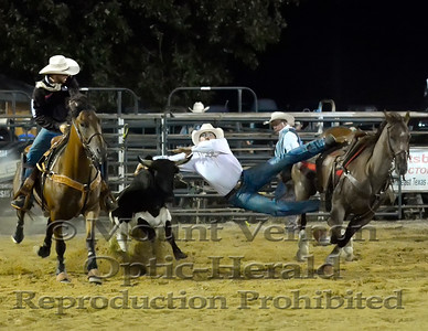 2016 Steer Wrestling Saturday 9/3/2016