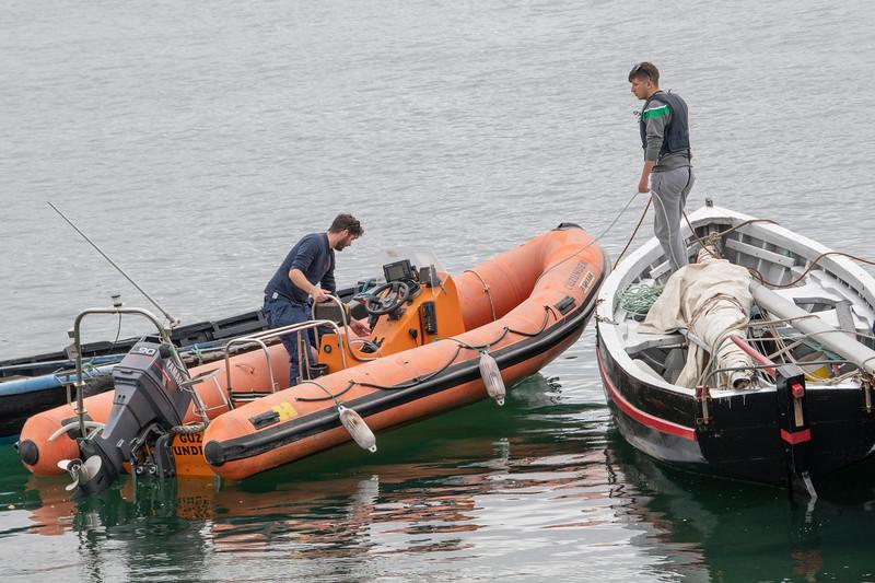 Boats in Achill Sound, Achill Island, County Mayo, Republic of Ireland