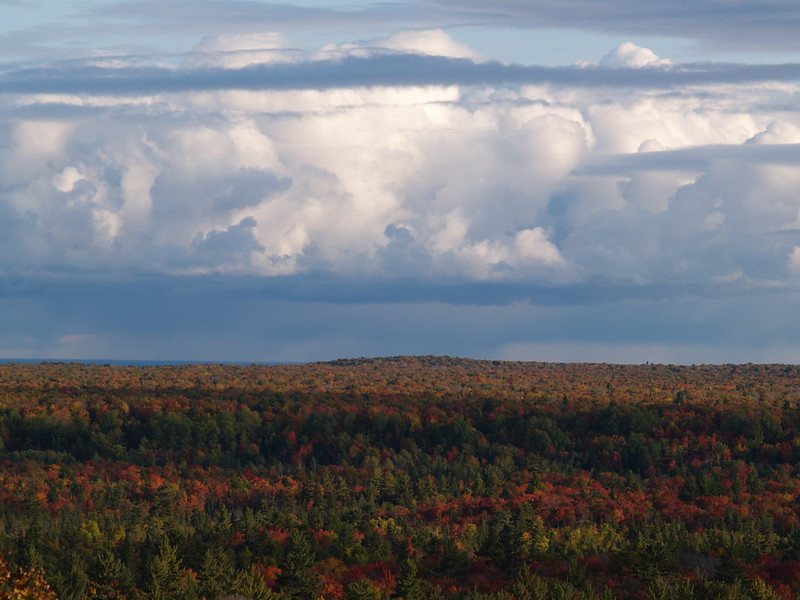 """Bluff above Lake Superior called """"cabin in the sky"""" - you will go off the GPS and across some interesting obstacles to reach this incredible place. There is a one-room shack with an outhouse that sits top this bluff. No...no shot of the cabin. Sorry!"""