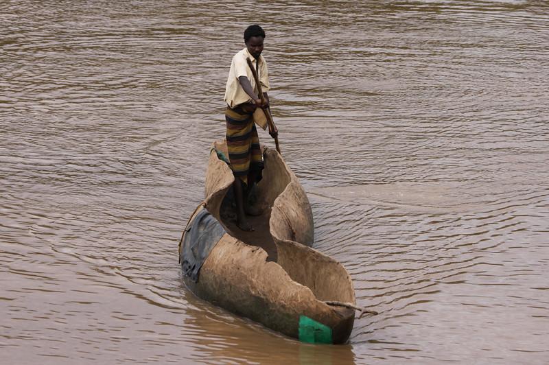 Dasanech canoe