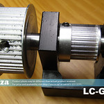 SKU: LC-GEAR, 2:1 Transmission Gear Set with Mouting Base for TruCUT Laser X-Axis