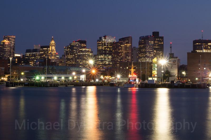 Boston from the Navy Yahd