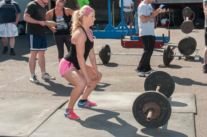 Warming up for the Deadlift