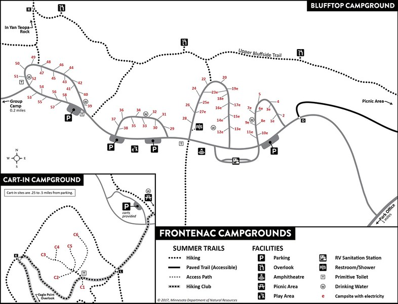 Frontenac State Park (Campground Maps)