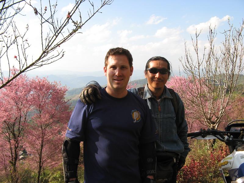 Scott & Sa-ngiam at Doi Chang.