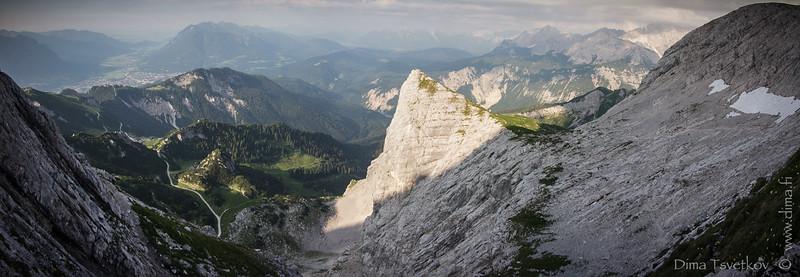 Alpspitze 2628m 21.7.2013