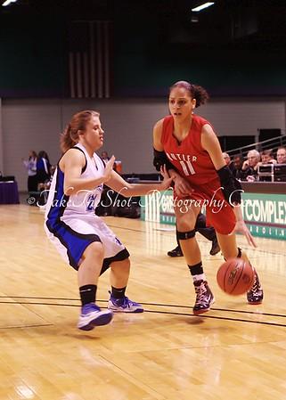 2010/03/04 BHS Girls Basketball NCHSAA Regional Semi-Final Game - Butler VS McDowell
