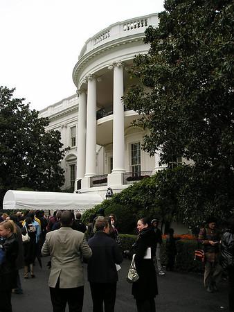 Fall 2009 White House Garden Tour