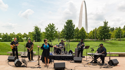 Lady J Huston at Blues At The Arch 2021