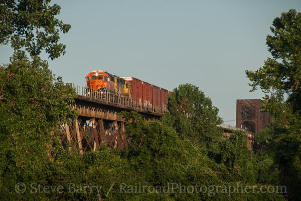 BNSF Railway West Memphis, Arkansas June 18, 2014