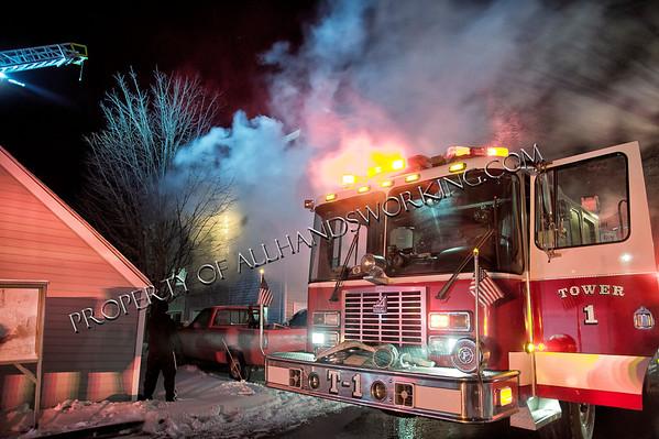 Milford, CT 3rd alarm condo fire 267 Melba St