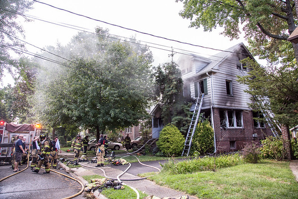 Teaneck NJ 3rd alarm, 309 Griggs Rd, 09-03-18