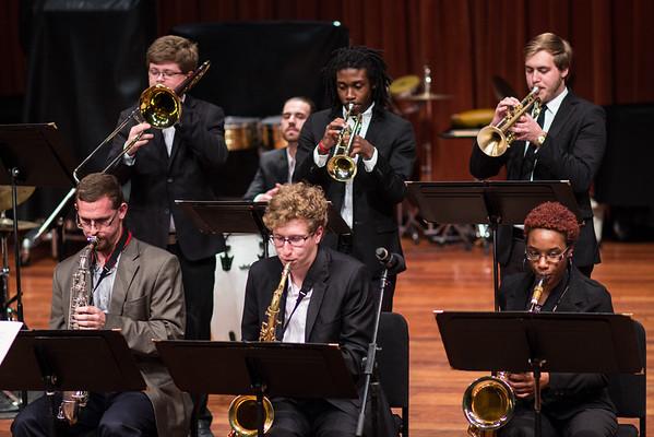 Wayne State Jazz Big Band II - Mondays at the Max - 11-7-2016
