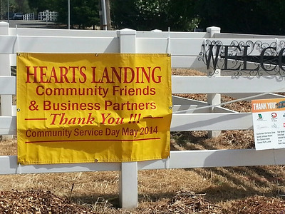 Hearts Landing