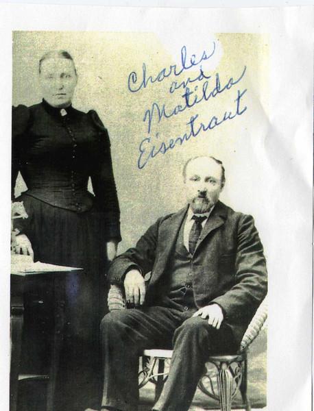 Charles and Matilda (Hanshmann) Eisentraut