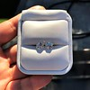 2.34ct Old European Cut Diamond Pair, GIA J SI 19