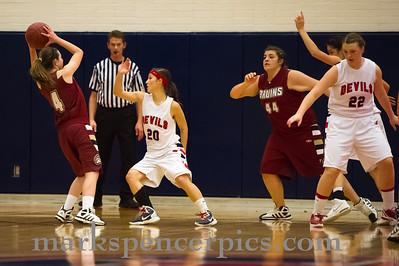Basketball Girls SHS vs MtView 1-27-2012