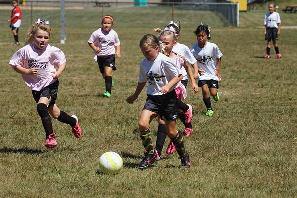 Girls U8 Soccer Fall 2015