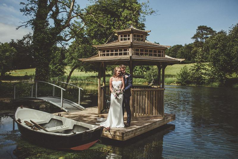 Bridal couple, Derek O Rourke...JPG