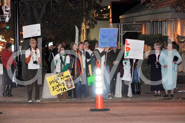 Salt Lake City Prop 8 November Protest 2008