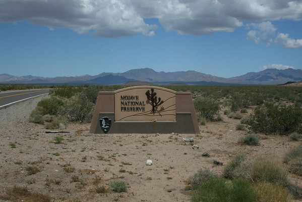 Mojave National Preserve - Hole In The Wall Campground - Jun 2010