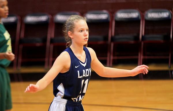 2017-10-30 Lady Saints Basketball