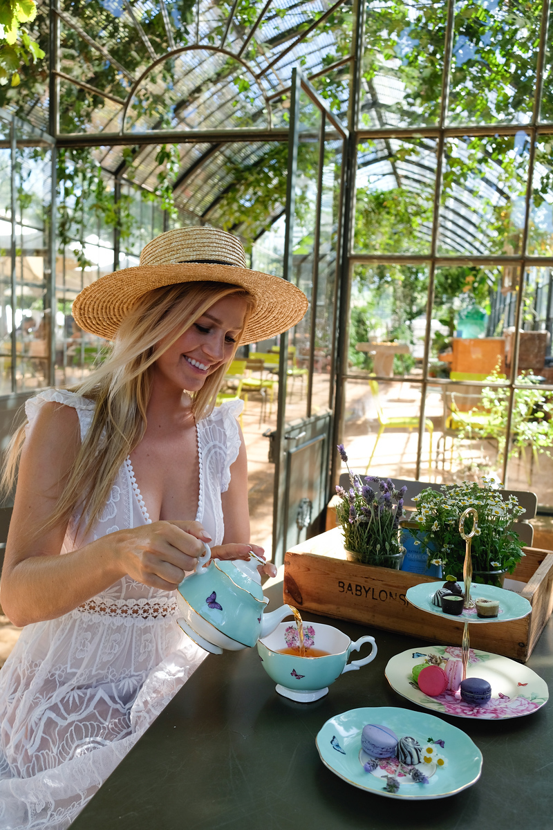 Tea Time at Babylonstoren