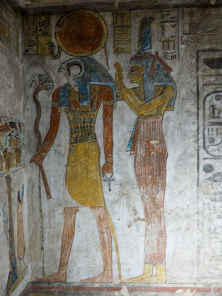 Inside the tomb of Tausert and Setnakht