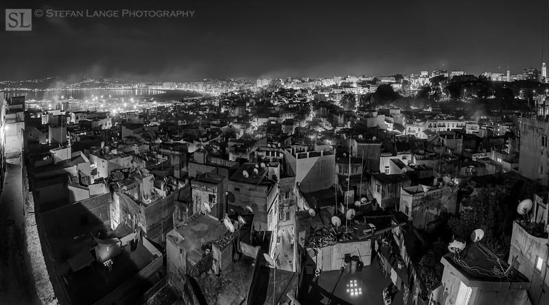 Tangier at night