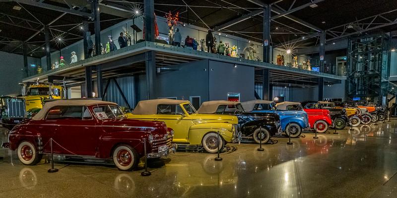 Eindrücke aus dem Museum «Transport World»