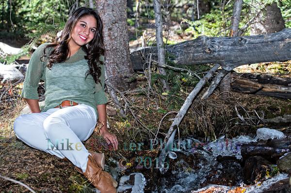 Donielle Quintana Sophomore Portrait