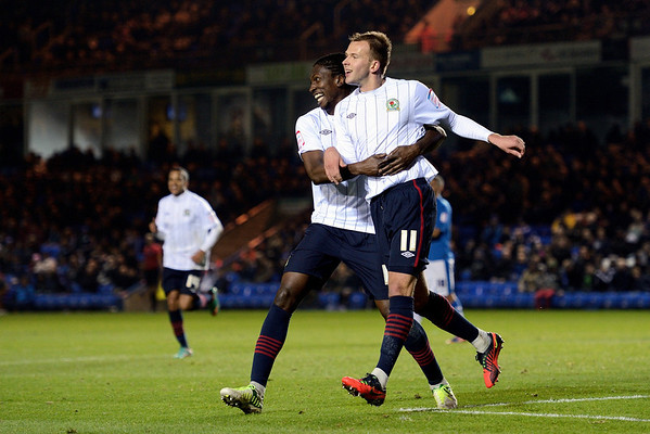 Peterborough United 1 - 4 Blackburn Rovers 17.11.12  NO FOOTBALL IMAGES FOR SALE OR REPRODUCTION