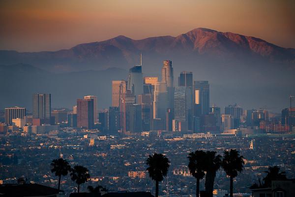 Sunset - Kenneth Hahn Park LA