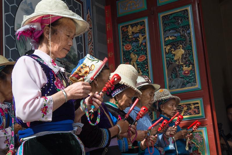 Ceremony at Temple in Dali, Yunnan, China-9817.jpg