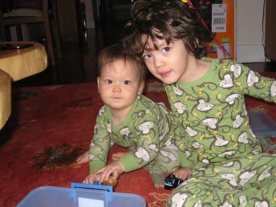 Dylan & Skylar--December 2010