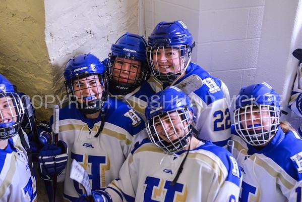 W Hockey v Bowdoin NESCAC Qtrs 2-24-18