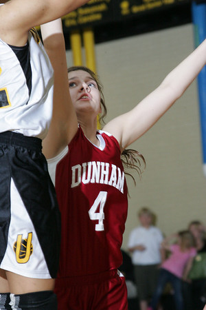 Dunham vs U High Girls 1-27-09
