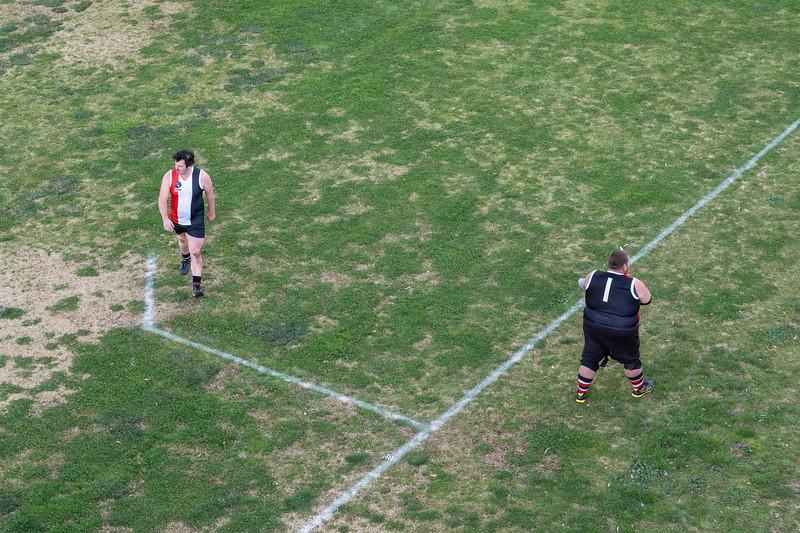 Saturday morning at the Ultima Football and netball grounds. Ultima v Quambatook