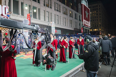 Macy's Day 5-  Performance Practice & Parade  NOV 24 2016