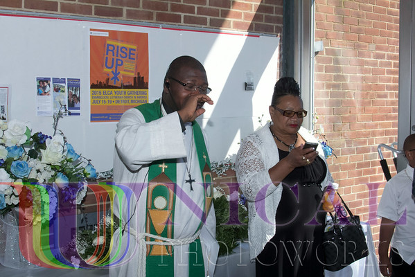 A Homegoing Celebration of the Life of Mrs. Maureen A. Johns-Doe at the People's Community Lutheran Church, Baltimore, MD on Saturday, July 5, 2014