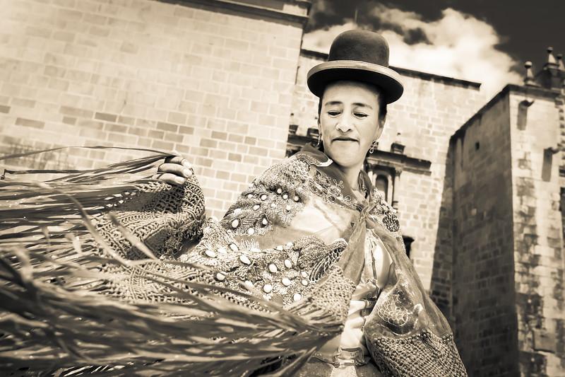 Peruvian Dancer in Cusco