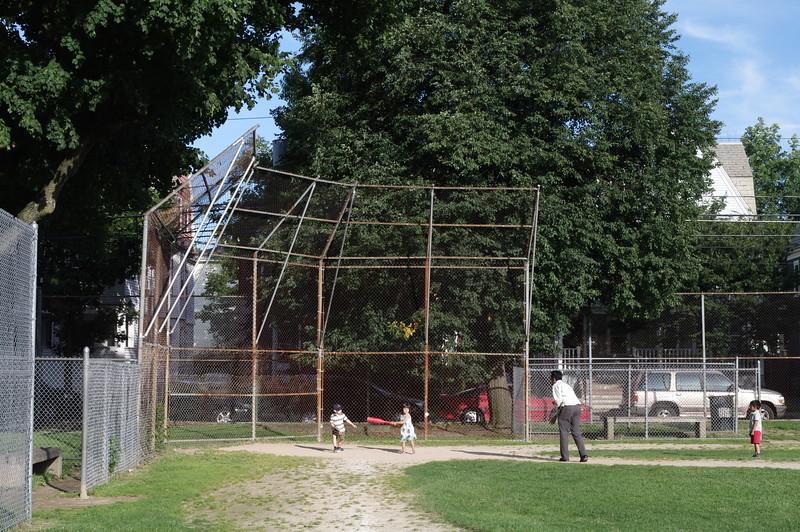Guen at bat.