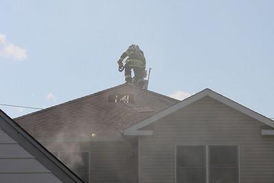 Lodi  3rd alarm  basement  Woodside Ave.  7-26-10