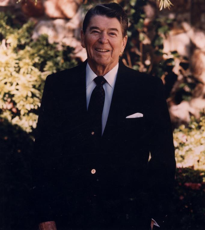 . Ronald Reagan   (Los Angeles Daily News file photo)