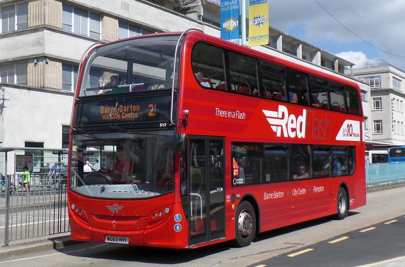 517 - WG63HHV - Plymouth (Royal Parade)