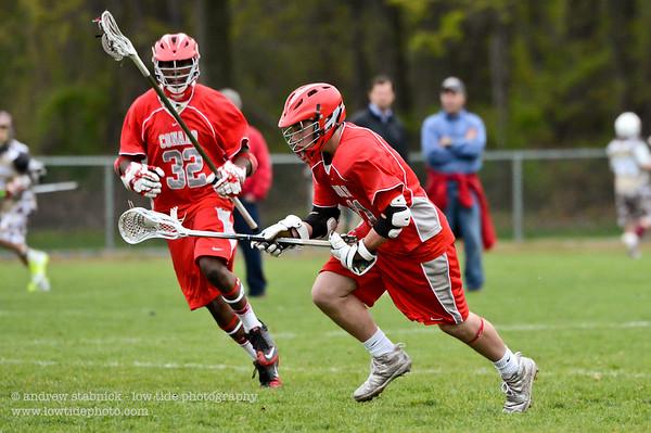 2012 - Varsity (boys) v. South Windsor - May 3, 2012