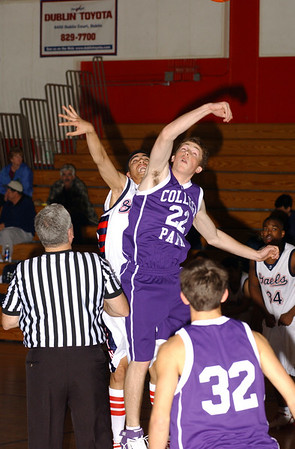 DHS Varsity Boys Basketball - 02-07-06